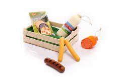 Kaufladenzubehör Wurstwaren aus Holz von NATUREHOME | NATUREHOME