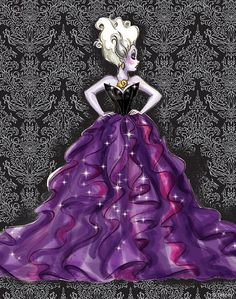 Disney Villains Designer Collection: Ursula (Concept Art)