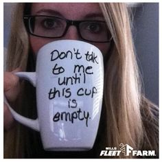#FleetFarm #DIYAlert! --> Personalized Coffee Mugs  Click here for step-by-step instructions: http://www.fleetfarm.com/content/pdf/PersonalizedCoffeeMug.pdf