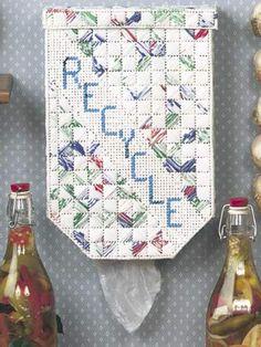 Plastic Canvas - Home Decor - Decorations & Knickknacks - Recycle - #FP00188