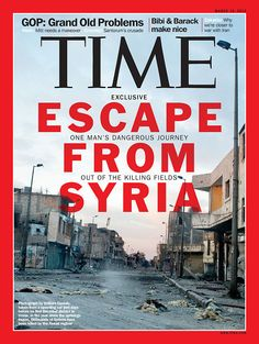 Escape from Syria | Mar. 19, 2012
