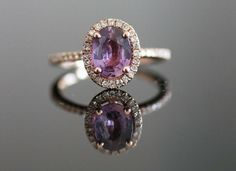 How could a girl not love this gorgeous purple? <3 Amethyst is definitely a stone to consider for your engagement ring! #engagement
