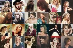 Taylor Swift big collage