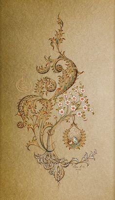 Tuba ASİLTÜRK - Turkish Artist Tezhip Art