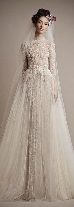 vintage-wedding-dress.jpg (426×1194)