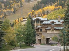 The Antlers Resort in Vail, CO Jerry & I spent our honeymoon and 25th anniversary here.