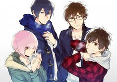 Ace of Diamond ~ Haruichi Kominato, Furuya Satoru, Miyuki Kazuya, and Eijun Sawamura