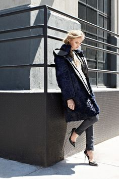 You'll definitely want to repin this Helmut Lang coat to remind yourself when it's cooler.