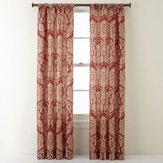 Royal Velvet® Camden Rod-Pocket Curtain Panel - JCPenney