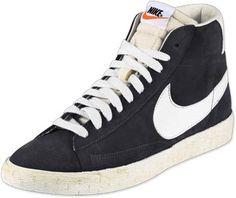 Nike Blazer Mid Vintage Schuhe black/sail