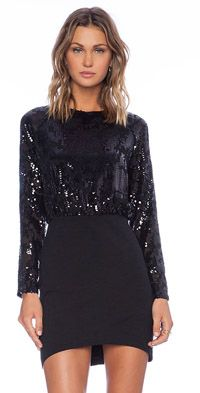Linda Sequin Mini Dress