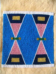 Native American Clothing, Native American Crafts, Native American Artifacts, Native American Indians, Beaded Earrings Native, Native Beadwork, Native American Beadwork, Crow Indians, Crow Art