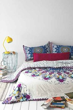 Magical Thinking Luna Medallion Duvet Cover