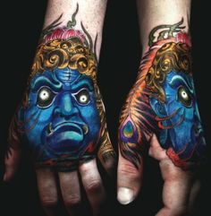 Not sure I'd ever get something like this, but it is still a sick tattoo