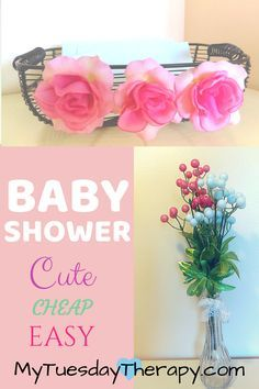 Host an easy baby shower on a budget. Baby shower ideas for food, decorations, favors, and games. Easy Baby Shower Games, Cheap Baby Shower, Simple Baby Shower, Beautiful Baby Shower, Baby Games, Baby Shower Favors, Baby Shower Parties, Baby Shower Themes, Baby Shower Decorations