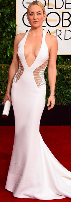 Kate Hudson | Golden Globes 2015 Versace Prive