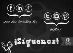 Know How Consulting MX ¡Estamos en todos lados! #weknowhow #KHCMX #síguenos #miércoles #powerbusiness #nolimits #followus #socialmedia