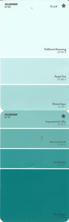 a Plascon Rich Teal Colours