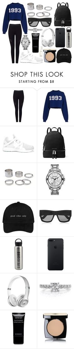 """319."" by plaraa on Polyvore featuring moda, Miss Selfridge, MSGM, Athletic Propulsion Labs, MICHAEL Michael Kors, Karl Lagerfeld, Gucci, Life is good, Mark Broumand y Givenchy"