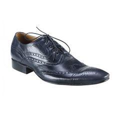 Pánské kožené společenské boty tmavomodré - manozo.cz Men Dress, Dress Shoes, Derby, Oxford Shoes, Lace Up, Women, Fashion, Luxury, Moda