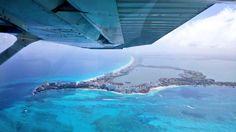 #Cancún hoy visto desde un avión. Espectacular. Foto vía   @FajardoAlonzo