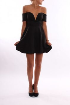 Rise Of Dawn - Sweet Sixteen Mini Dress Black - Dresses - Shop by Product - Womens
