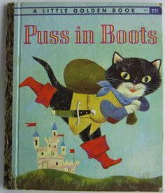 Puss in Boots Little Golden Book JP Miller Kathryn Jackson