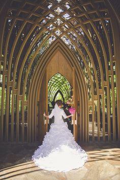 Arkansas Wedding Mildred B Cooper Memorial Chapel