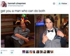 Like this. | Do You Have A Man Who Can Do Both?