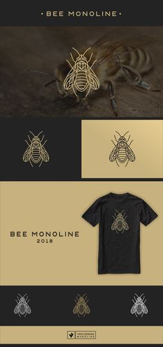 "Check out my @Behance project: ""BEE MONOLINE"" https://www.behance.net/gallery/60388935/BEE-MONOLINE"