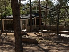 This Alto home in the Deer Park area of Alto Lakes Golf and Country Club, Alto, NM, underwent a substantial renovation. The garage was converted to a guest suite and a new carport added. The main house interior was overhauled. New roofing, stucco and an added stone base completed the home's update.