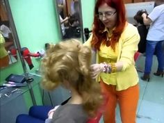 ▶ Lili Paul Retro Lavinia tutorial - YouTube