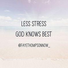 Reposting @fayethompsonnow_: He's got you, Fabulous. Let Him bear your burdens. What's for you won't pass you by. Tag someone who needs this. #Godknowsbest  #trust #joyinthejourney #peace #peaceofmind #lessstress #lessismore #believe #Jesus #thankfulthursday #dontoverthinkit #dontsitonyourfabulous