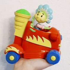 Fifi and the flowertots wind-up car, used, in VGC, free shipping #Fifi