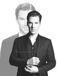 Benedict Cumberbatch. http://pinterest.com/aggiedem/sherbatched-or-cumberlocked/