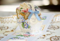 Anna Griffin Inc, Anna Griffin Cards, Card Making Kits, Folded Cards, Three Dimensional, Instagram Accounts, Pop Up, Bloom, Basket
