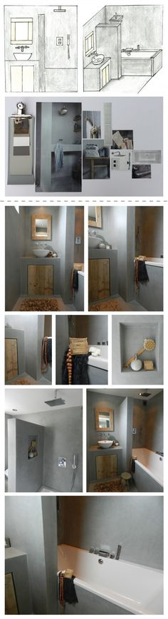 50 Trendy Home Decoratie Bathroom Home Office Table, Home Office Storage, Home Office Decor, Loft Bathroom, Dream Bathrooms, Small Bathroom, Home Bar Plans, Small Kitchen Layouts, Home Bar Designs