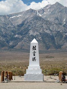 Manzanar, California. Wikipedia, the free encyclopedia....World War II Japanese American Internment Memorial.