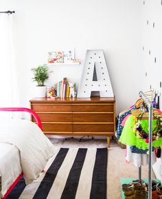 Bright and white kids room inspiration