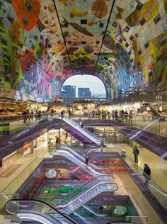 Markthal Central Staircase