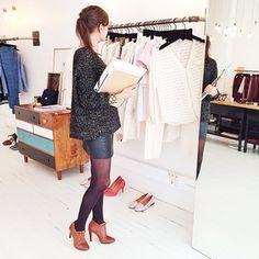 Morgane Sezalory @sezane_paris Instagram photos | Webstagram