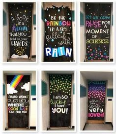 Snag my Door Decoration Bundle at off! Summer, Back to School, Positive Mindset, Holidays, and Subject doors to come Classroom Bulletin Boards, Classroom Setting, Classroom Design, Classroom Displays, Classroom Themes, School Classroom, Classroom Organization, Future Classroom, Classroom Door Quotes
