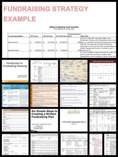 1000 images about nonprofit communication engagement on for Fundraising strategic plan template