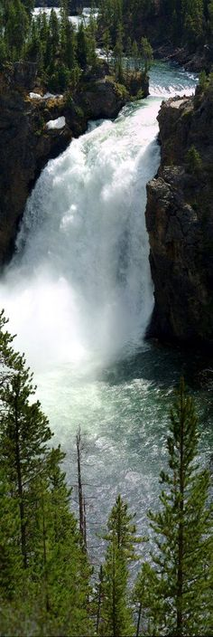 Panoramio - Photo of Upper Falls Yellowstone National Park