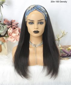 100% Human Hair Quality with 100% Reasonable price Headband Wigs, Headband Hairstyles, Weave Hairstyles, Black Hairstyles, 100 Human Hair Wigs, High Ponytails, Hair Quality, Wig Making, Wig Styles