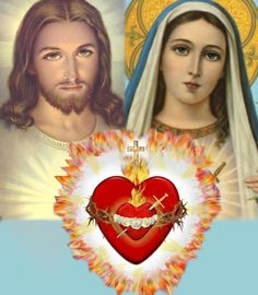 United Hearts of Jesus and Mary, and even more so (revelation continued in our days): United Hearts of the Holy Trinity (Father, Son & Holy Spirit) and Mary Immaculate. www.holylove.org