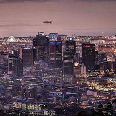 A city is a city is a city CAPE TOWN ! A city that's alive.