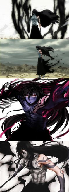 Ichigo's final Getsuga Tenshō. Shinigami, Anime Guys, Manga Anime, Anime Art, Kawaii Chibi, Kawaii Anime, Otaku, Ichigo And Rukia, Bleach Characters