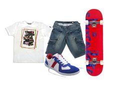 Trendy casual Look #Millenniumshop Βερμούδα: https://www.millenniumshop.gr/el/products/115?color_id=664 T-shirt: https://www.millenniumshop.gr/el/products/151?color_id=659 Παπούτσια: https://www.millenniumshop.gr/el/products/129?color_id=713
