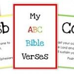 ABC Bible Verse Flashcard Printables ~ Teaching God's Word